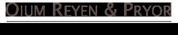 Oium Reyen & Pryor